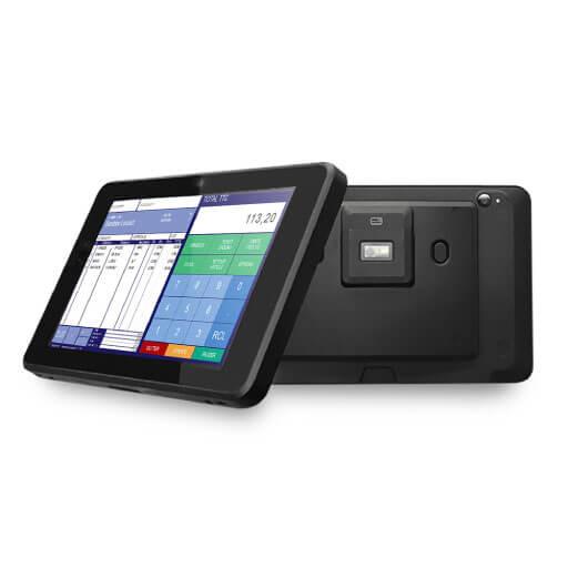 Caisse tactile mobile pour les commerces ambulants