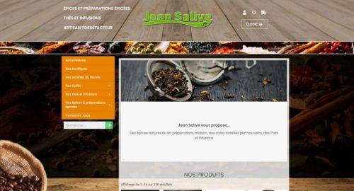 Site internet Jean Salive